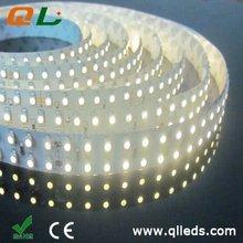 2012 hot Item!!! 38.4W/m Double-line 3528 Super bright led strip light!