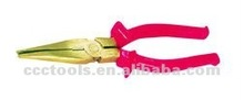 aluminum bronze long nose with cutters ,Non sparking safety tools