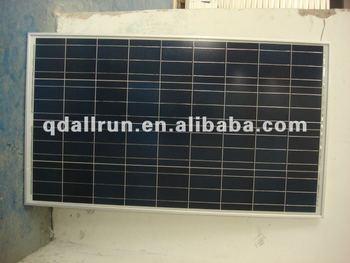 powerful100w 12v solar module