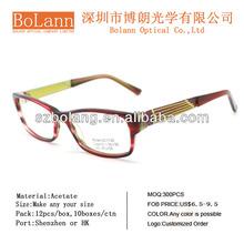 Wholeseller 2012 Eyeglasses Frame Acetate Optical Frame