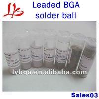 Free Shipping ! High Quality 25K leaded BGA Solder Ball 0.3-0.76mm * 7pcs For BGA Reballing