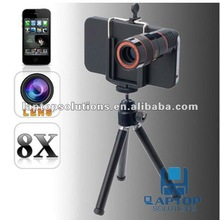 8 x Optical Zoom Lens Telescope For iPhone 4S Camera