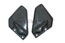 Carbon fiber Heel plates for Aprilia Mille -2003 /Tuono