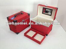High end PU makeup vanity box