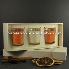 custom design Pintail Candles Cinnamon & Orange Fusion Gift candle Box with inlay