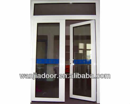 Aluminum residential doors residential aluminum double for Entrance double doors residential