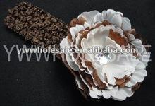 2012 new style crochet flower headbands Beautiful Headbands For Baby