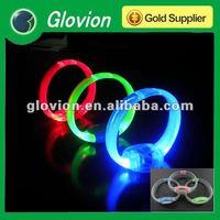 LED pulseras pulsera de piedras preciosas Glow party pulseras
