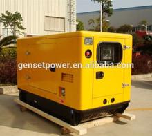 50Hz AC Silent Diesel Engine Yanmar Genset 10 kva