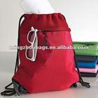 Polyester Microfiber Cinch Shopping Drawstring Bag Mesh