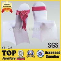 Wholesale White Spandex Chair Cover For Wedding