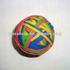 Color elastic rubber band balls
