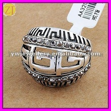 Men Jewelry Silver Plated Metal Alloy Mens Ring JZ-502