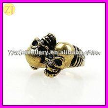 2012 Popular Jewelry Skull Rings for Women JZ-509