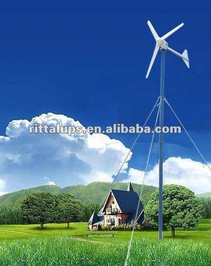 500w, 600W,1KW,2KW,3KW low wind power generator