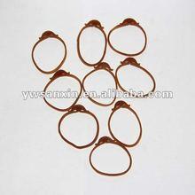 hook shape elastic rubber bands binding strings