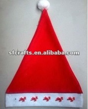 funny LED light musical christmas hat