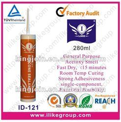 general purpose acetic silicone sealant spray(SGS,REACH)
