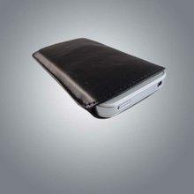 classic Black PU pouch for iphone 4s U6101