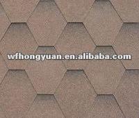 hexagonal asphalt bitumen tile