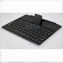 Ultra thin Aluminum bluetooth keyboard with stand for New iPad 3 P-iPAD23HCKBSO009