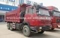 10 sıcak satış LHD RHD tekerleği 336hp shacman 6x4 damperli kamyon