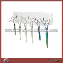 Wall Clear Acrylic Perspex Scissor Display Stand