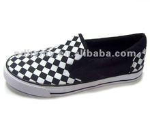 men fashion casual rubber canvas shoes