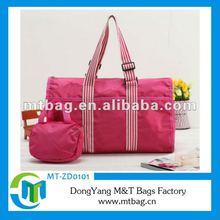 2012 fashion cheap promotional nylon tote bag