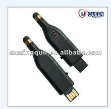Promotional Gift Black Bottle Shaped MIni 2G Bulk USB Flash Drive