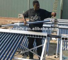 solar collector project in Burundi 4