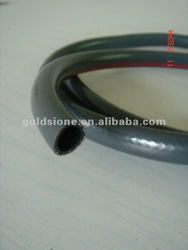 gray color pvc garden reinforce irrigation hose