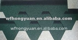 Best Price Colorful Plain Standard Asphalt Roofing Shingle