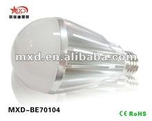 2012 Hot Sale Base E27 Led Light Bulb 7*1W