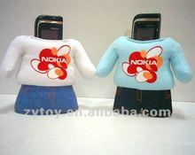 Stuffed plush Cell phone holders