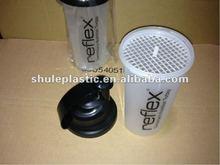 custom loge shaker bottle for nutrition powder shaking or mixing