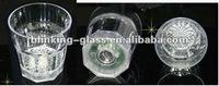 LED flashing whisky glass - 12oz