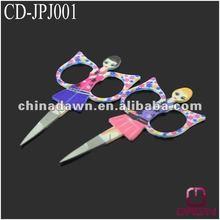 Fashion Cosmetic gift beauty girl eyebrow scissor CD-JPJ001