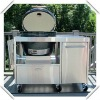 ceramic bbq grill and smokers with table