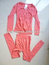 2012 Fashion thermal long johns for women