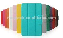 Auto sleep wake leather smart cover for google nexus 7