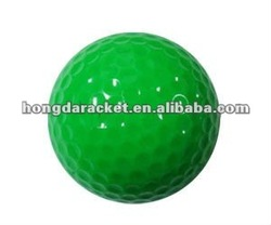 synthetic rubber & dupont 1 piece practice golf ball