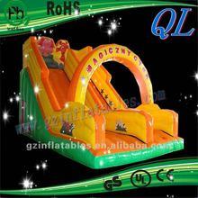 Qi Ling mini inflatable slip and slide