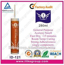 White Acid Silicon Adhesive Sealant (SGS,REACH)