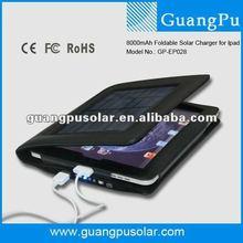 8000mAh Portable New Solar Charging Case for new Ipad