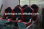 5D motion chair cinema, movie ,Theater supplier