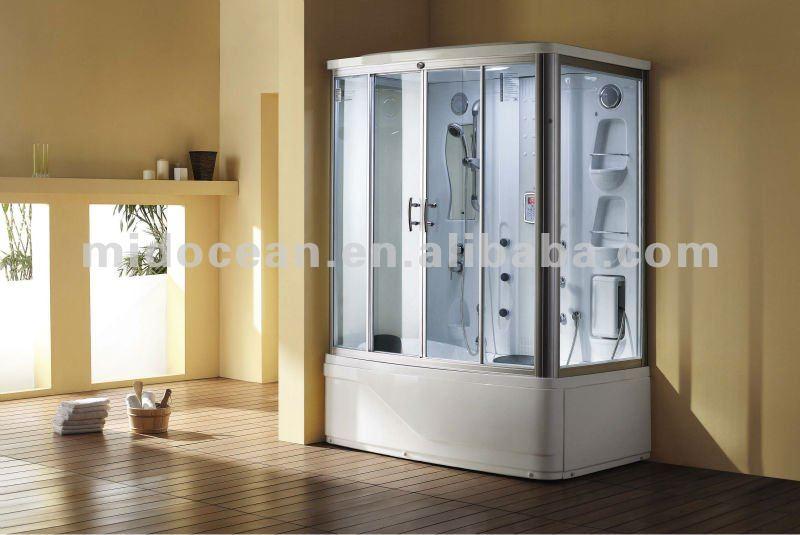 hot venda de canto do chuveiro do banheiro com banheira de hidromassagem