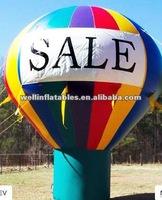 3m/4m/5m/6m/7m/8m/9m/10m advertising inflatable ground balloon / inflatable advertising balloon