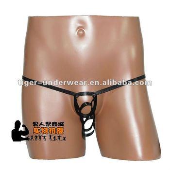 nylon spandex panties for men