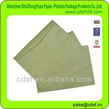 western style Kraft Paper Envelope(envelope factory)